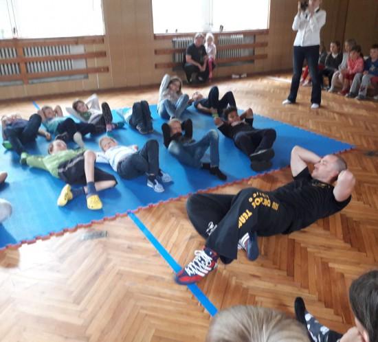 ŠD ukázka bojového umění