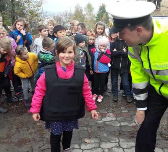 ŠD - středeční odpoledne s dopravní policií